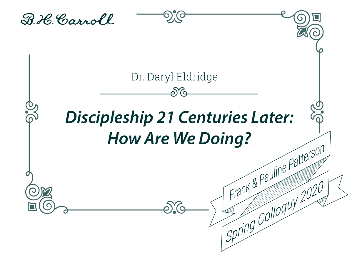 Discipleship 21 Centuries Later: How Are We Doing?