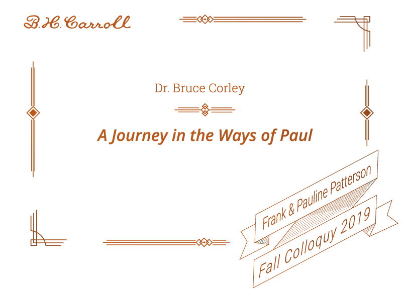 A Journey in the Ways of Paul